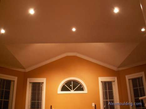 Crown Molding On Angled Ceilings Makely