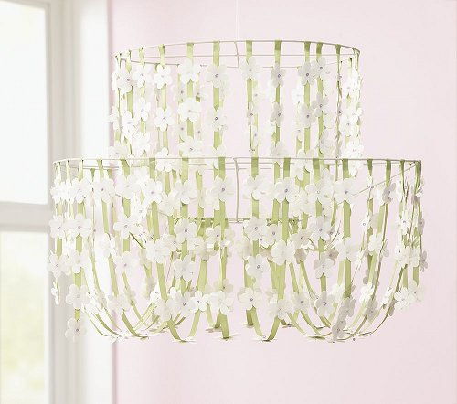 Ribbon Chandelier Diy