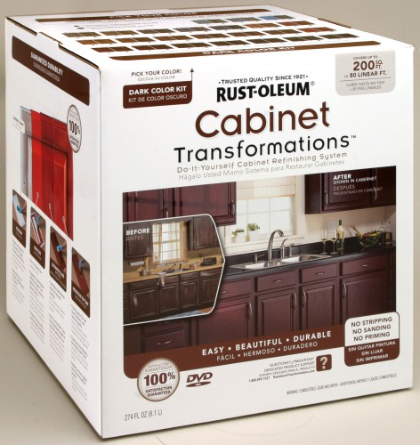 Refinishing Melamine Kitchen Cabinets: Transforming Your Kitchen Cabinets {and More!}