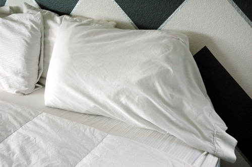 How To Fit A King Pillowcase Onto A Standard Sized Pillow