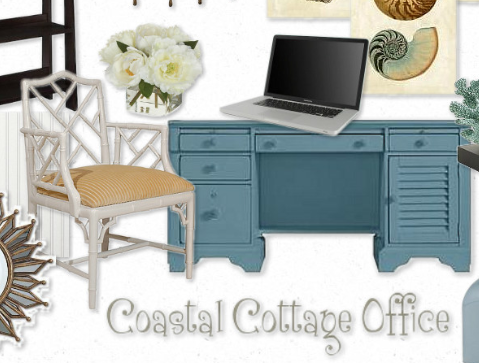 Setting The Mood For A Coastal Cottage Office Makely