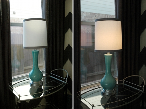 Covering a self adhesive lamp shade makely have aloadofball Images