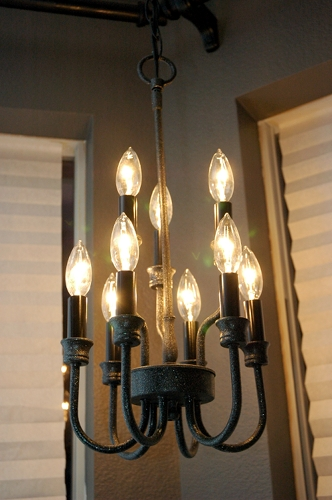 Bedroom Light Fixture Ideas: Mastering The Master Bedroom {Updating An Outdated Light