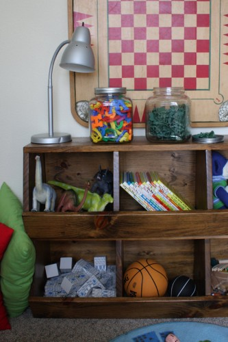 Toy Cubby Storage Plans