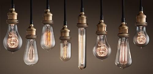 Restoration Hardware S Edison Bulb Collection