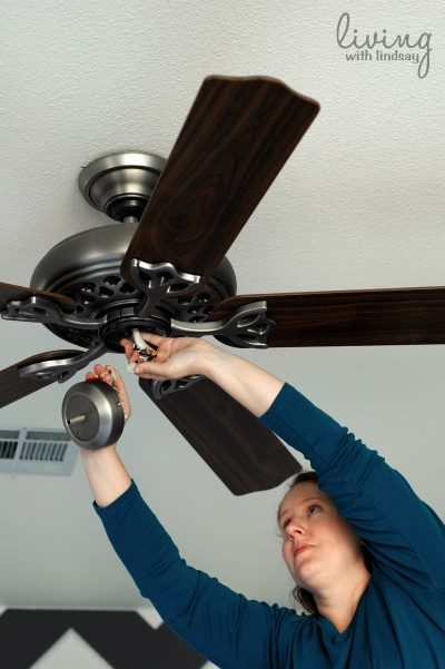 How to replace a ceiling fan part i makely 5 aloadofball Image collections