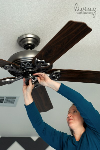 How to Replace a Ceiling Fan {Part I} - Makely