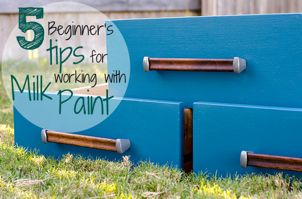 Tips for Using Miss Mustard Seed's Milk Paint