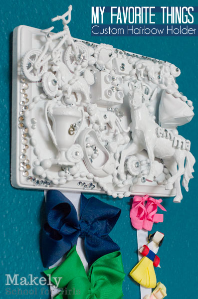 My Favorite Things Hairbow Holder | Makely School for Girls