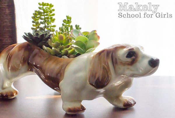 Using Realistic Looking Faux Succulents | Makely School for Girls