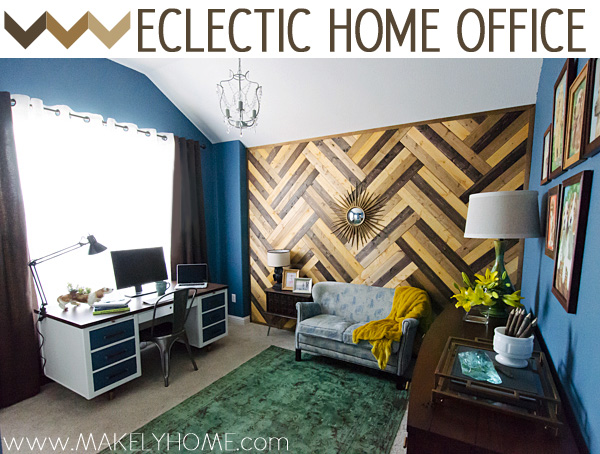 Eclectic Home Office | Makely School for Girls