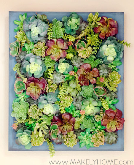 how to make fake succulents look real