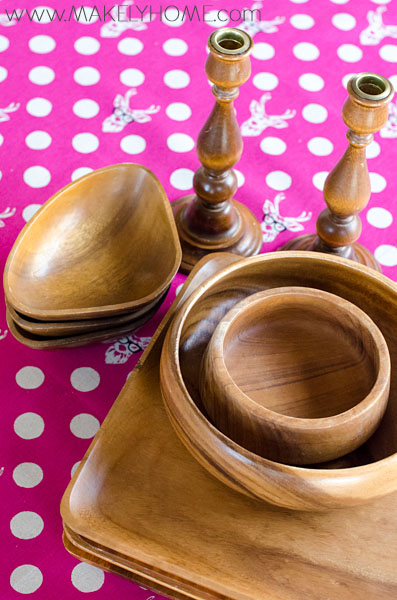How to Care for Wood Bowls and Serving Pieces | Makely School for Girls
