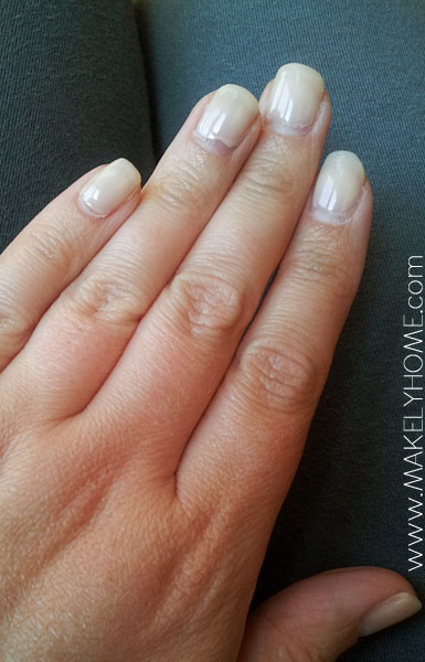 Gel nails at home starter kit french manicure