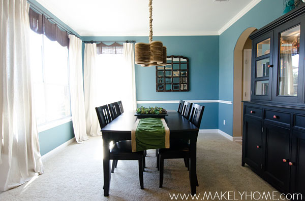 The Paint Colors in my Home - Dining Room | Makely School for Girls