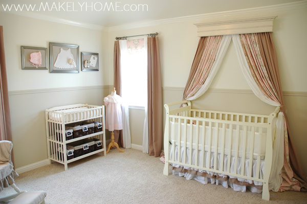 Paint Colors in My Home - Girl Nursery | Makely School for Girls