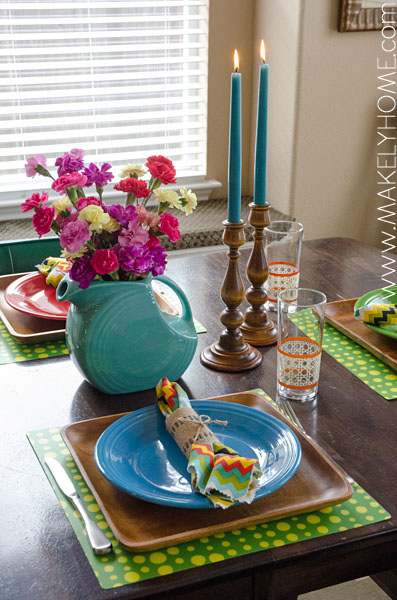 Make Every Day a Fiesta - Setting the Table with Fiestaware