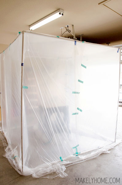 50 Diy Collapsible Spray Paint Tent