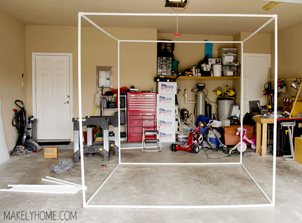 Garage Portable Paint Booth : Diy collapsible spray paint tent