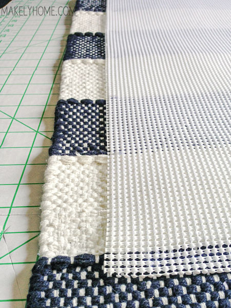 How To Create A Non Slip Bath Mat From A Cotton Rug