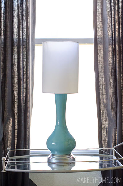 The Tale of the Broken Lamp Shades via MakelyHome.com