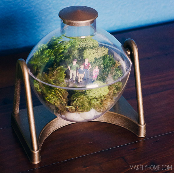 Vintage People Feeder Terrarium via MakelyHome.com