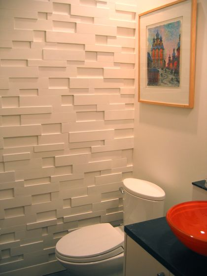 MDF Scrap Feature Wall
