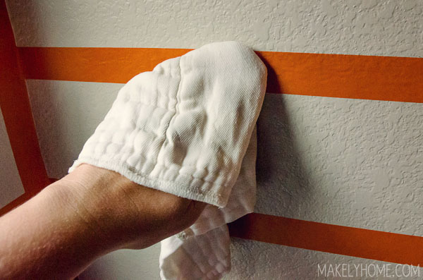My experience with the new orange FrogTape for Textured Surfaces via MakelyHome.com