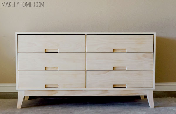 How To Build A Crate U0026 Barrel Steppe Dresser Via MakelyHome.com