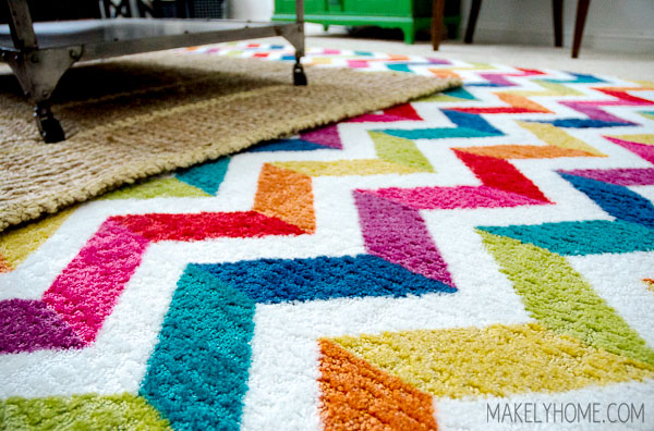 Win a Mohawk Home area rug at MakelyHome.com #ilovemymohawkrug