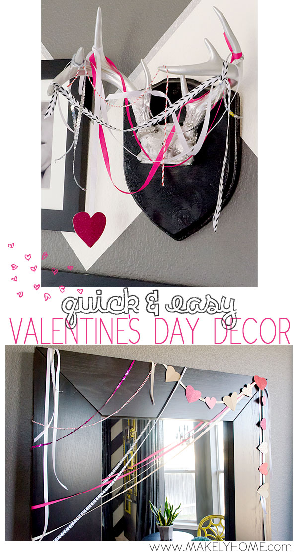 14 Lovely Valentine Garlands via MakelyHome.com