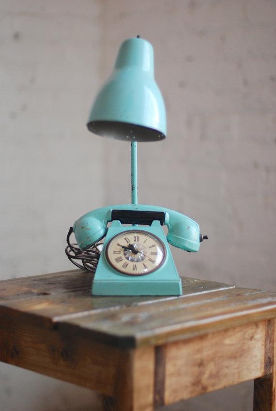 Retro Desk Lamp : Cool vintage lamps with unique features makely