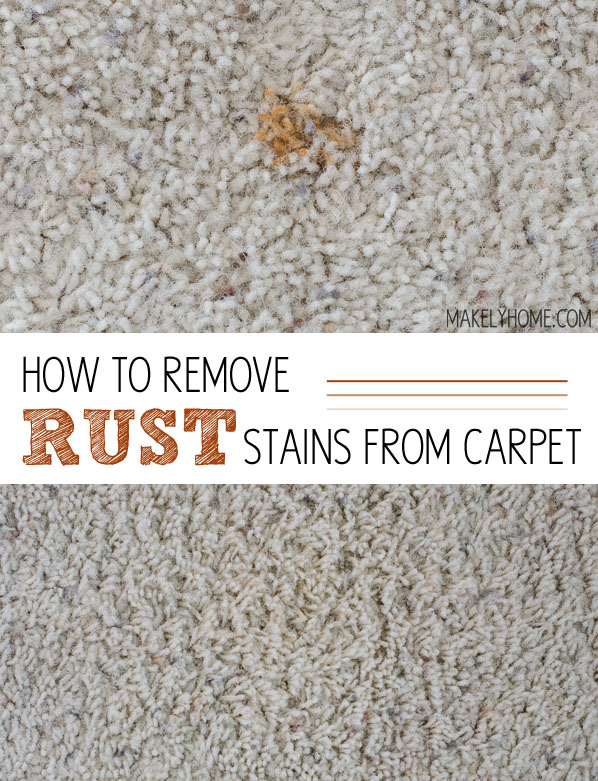 How To Remove A Rust Stain From Carpet Carpet Ideas