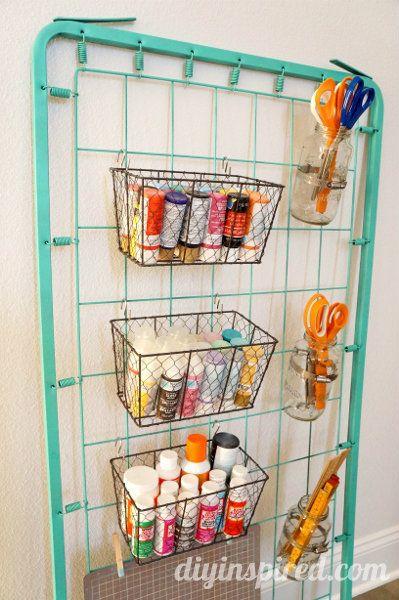 Bed Spring Craft Storage
