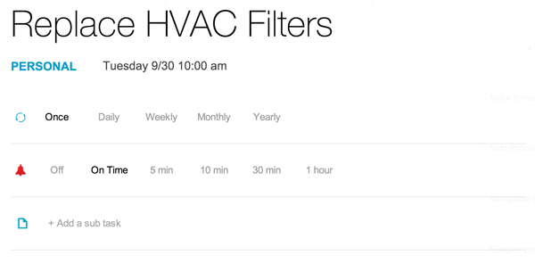 Five Easy Ways to Remind Yourself to Change Your HVAC Filters