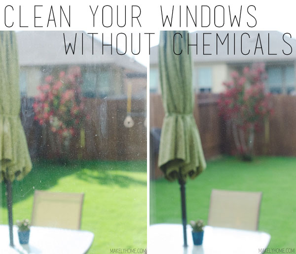 How to Clean Your Windows Without Chemicals