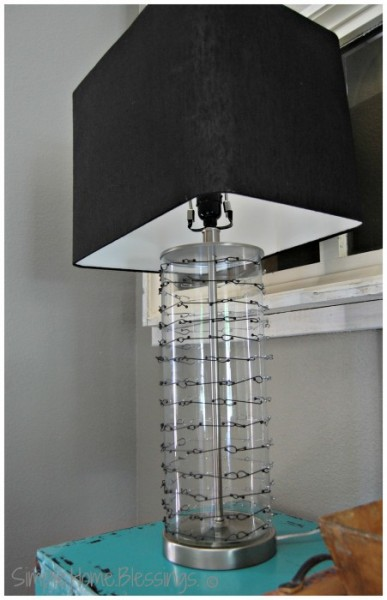 DIY Chain Mail Lamp