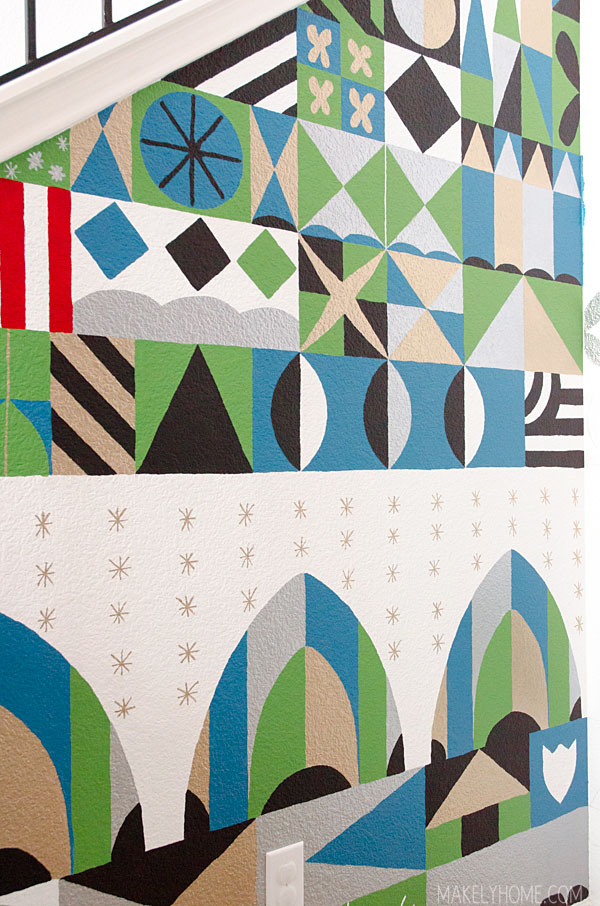 Mary Blair Inspired Wall