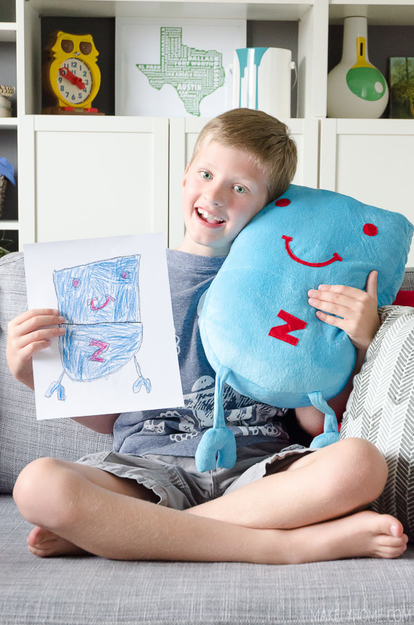 Bring your kids' artwork to life with Budsies #bestgiftever