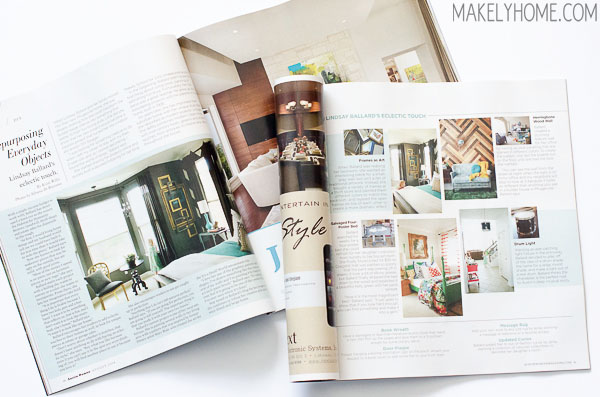 Lindsay Ballard of Makely featured in Austin Woman - August 2014