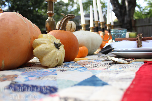 Country Fall Table