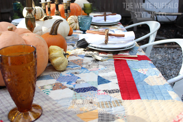 Country Fall Tablescape