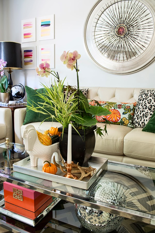 4 Ways to Decorate for Fall for the Reluctant Seasonal Decorator - image via Cuckoo 4 Design