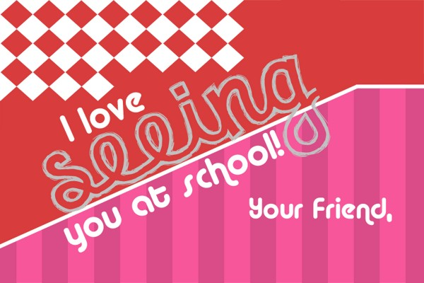 I love SEEING you at school - cheap and easy to assemble DIY valentines with funny glasses - free printable
