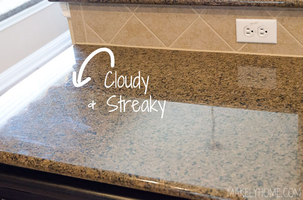 how to clean granite countertops with steam. Black Bedroom Furniture Sets. Home Design Ideas