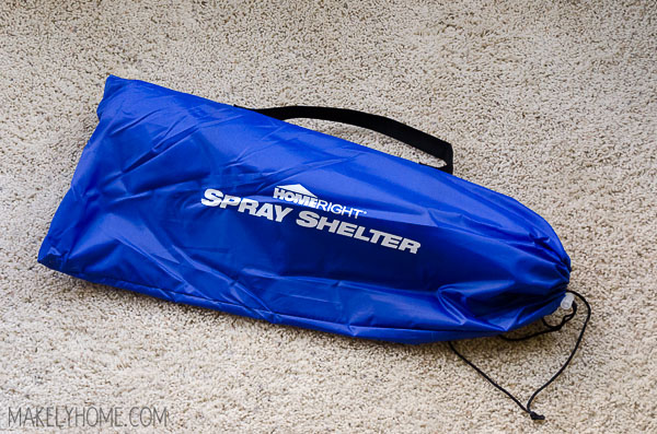 Win a HomeRight Spray Shelter for spray painting